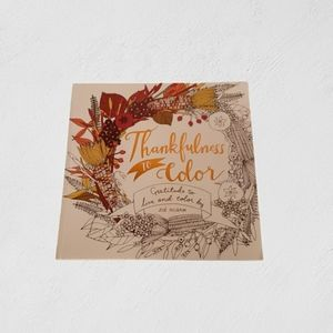 Coloring Book: Thankfulness to Color